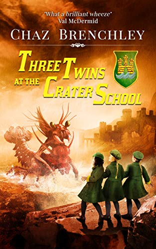 Cover of Three Twins at the Crater School
